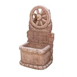 Fontana a colonna Masseria color tufo