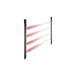 Barriere IR s/fili a celle solari Urmet Multiplexata sincronizzata 1033/282
