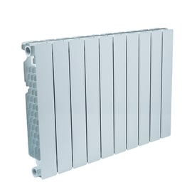 Radiatore Modern in alluminio 10 elementi interasse 500 mm