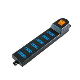 Multipresa 6 prese con interruttore