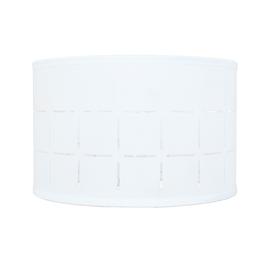 Paralume per lampada da comodino personalizzabile Intagli bianco