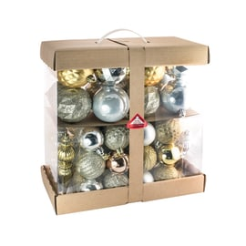 Box pendenti argento e oro misure assortite