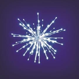 TWIGBall luminoso 80 minilucciole Led bianca fredda L 30 x P 30 x H 30 cm