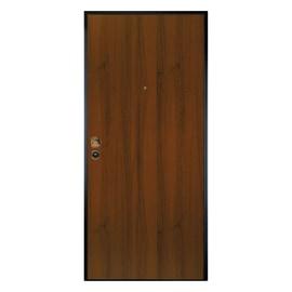 Porta blindata Alarm noce L 90 x H 200 cm dx