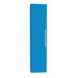 Colonna Ginevra DX blu chiaro 1 anta L 32 x H 140 x P 16 cm