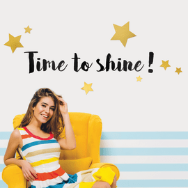 Sticker Fashion L Shine