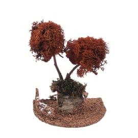 Alberi di lichene 18 cm