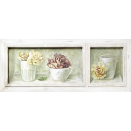 Quadro in legno Rose 22,5x59,5