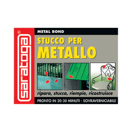 Stucco Metal Bond per metallo Saratoga grigio 500 ml
