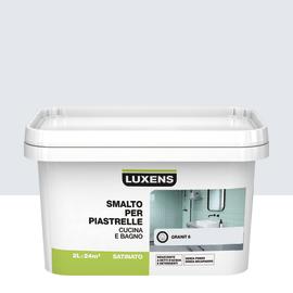 Smalto Per piastrelle Luxens Bianco Granit 6 satinato 2 L