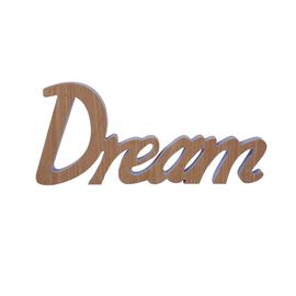 Scritta Dream MDF 40x18