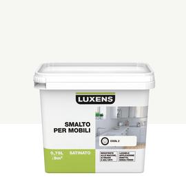 Smalto Per mobili Luxens Bianco Cool 2 satinato 0,75 L