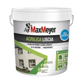 Pittura acrilica per esterno Max Meyer bianco 14 L