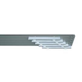 Binario pannello singolo 5 vie Cruiser alluminio 280 cm
