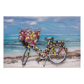 quadro dipinto a mano Bicicletta 60x90