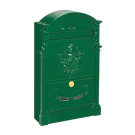Cassetta postale singola Residence Verde, formato rivista, L 26 x H 41 x P  9 cm