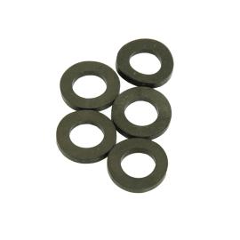 """10 guarnizioni piatte in gomma, Ø 1-1/4"""" pollici 30 - 39 mm"""