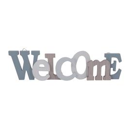 Scritta Welcome 2 MDF 50x13