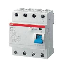 Interruttore differenziale puro ABB ELF204-25003A 3P+N 25 A