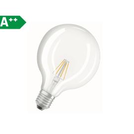 Lampadina LED Osram Filamento E27 =60W globo luce naturale 320°