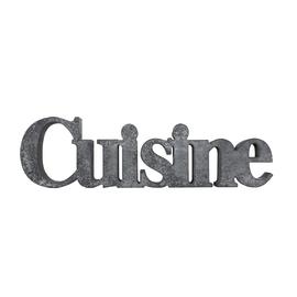 Scritta Cuisine cemento 41x25