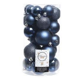 Box sfere blu misure assortite