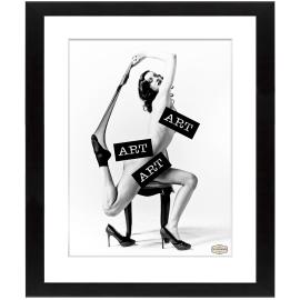 Stampa incorniciata Donna 40 x 50 cm