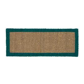 Zerbino Bordo verde 25 x 50 cm
