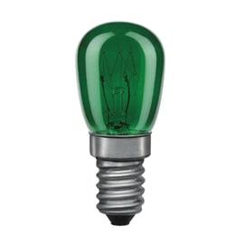Lampadina mignon E14 15W verde