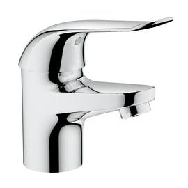 Miscelatore lavabo Euroeco speciale leva ergonomica cromato
