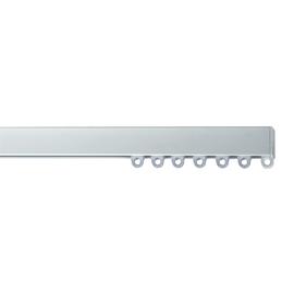 Binario a strappo singolo alluminio 100 - 100 cm
