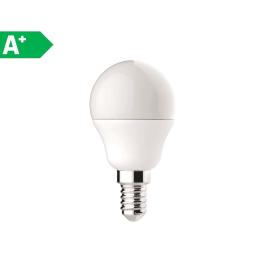Lampadina LED Lexman E14 =40W sfera luce calda 220°