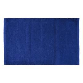 Tappeto bagno Short Chenille blu