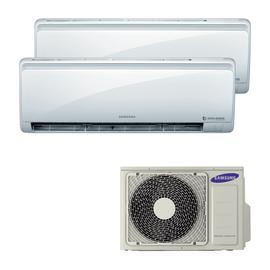 Climatizzatore fisso inverter dualsplit Samsung Quantum Maldives 2.5 + 3.5 kW