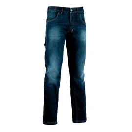 Pantalone Diadora Jeans Stone, blu tg. L
