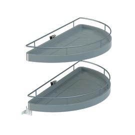 Estraibile 2 cesti per base angolare per modulo da 80 cm