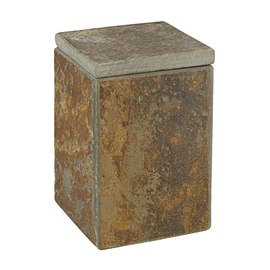 Porta cotone Heavy Rock marrone
