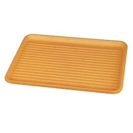 Vassoio giallo L 43,5 x P 32,5 x H 2 cm