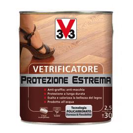 Vetrificatore V33 Protezione Estrema incolore satinato 2.5 L