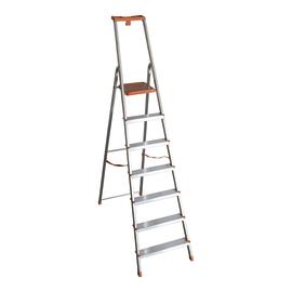 Scala domestica in alluminio 7 gradini Domus Plus