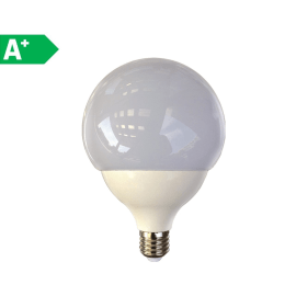 Lampadina LED E27 =150W globo luce fredda 150°