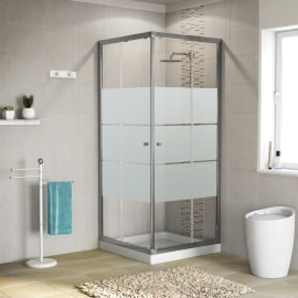 Box doccia e cabina doccia completa prezzi e offerte leroy merlin - Bricoman cabine doccia ...