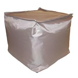 Cuscino pouf Idrorepellente grigio 45 x 45 cm