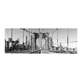 Poster Glitter Brooklyn view 33 x 95 cm