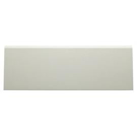 Battiscopa carta finish rivestito bianco 15 x 70 x 2400 mm