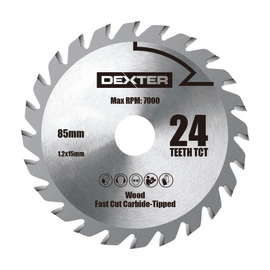 Lama per sega circolare Dexter Ø 85 mm 24 denti