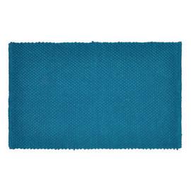 Tappeto bagno Bubble blu