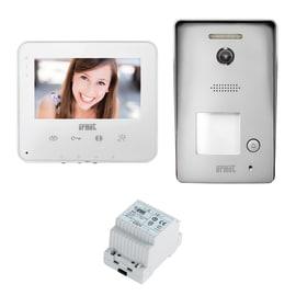 Videocitofono con fili Urmet Kit Monofamilgiare 2 fili