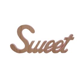 Scritta Sweet MDF 40x18