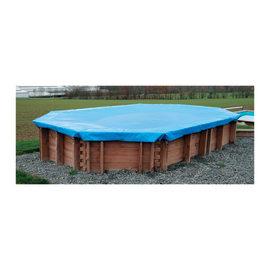 Copertura invernale per piscina 422 x 521 cm